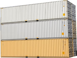 24 foot steel shipping containers for sale in Chicago, Illinois