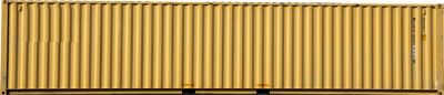 yellow 45 ft shipping container in Chicago