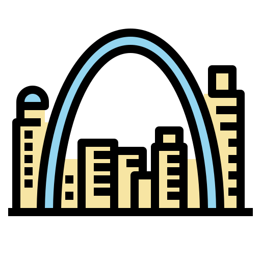 Icon of the arch in missouri