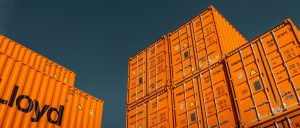 orange shipping containers for sale